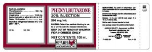 Phenylbutazone label