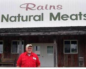 David Rains, Owner of Rains Natural Meat