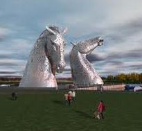 Kelpies of scotland