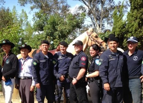 Mounted Police from around the world meet up