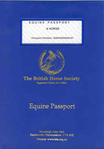 British Equine Passport