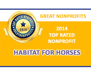 Habitat for Horses - Top Rated by Great NonProfits in 2014