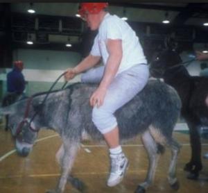 donkey-basketball